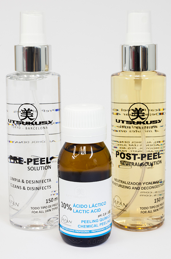 Fruchtsäurepeeling mit Milchsäure / Milchsäure Peeling von Utsukusy Cosmetics